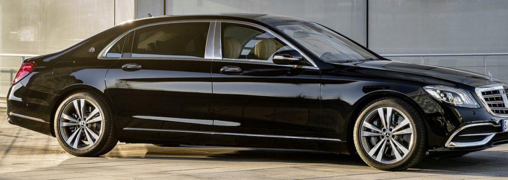 Unsere S Klasse Limousine von Mercedes für Ihren Limousinenservice in Basel